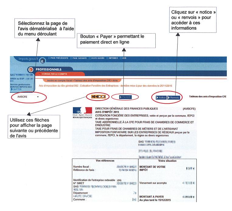 Consultation Et Paiement Des Avis De Cfe Urml Martinique