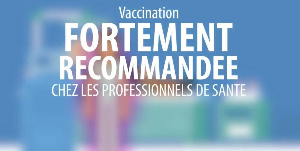 vaccination profe de santé bandeau