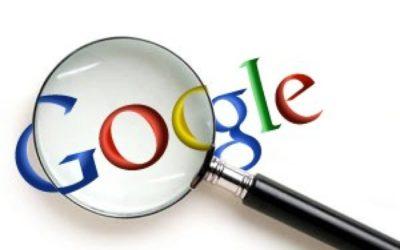 Recherche d'information sur Google
