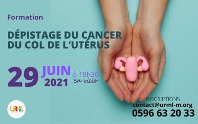Formation : Dépistage du cancer du col de l'utérus