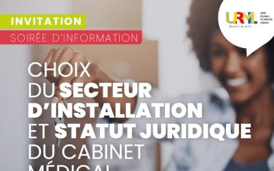 Soirée autour de l'installation en libéral – Jeudi 8 juillet 2021