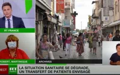 Le Covid progresse en Martinique