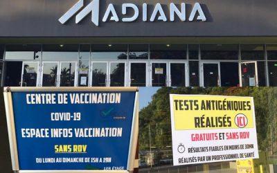 Un nouveau centre éphémère de vaccination à Schoelcher en Martinique