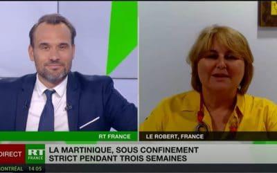 Interview RT France du 10 aout 2021