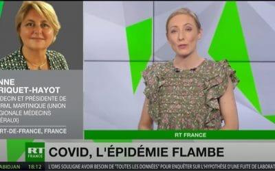 Interview du Dr CRIQUET-HAYOT sur RT France