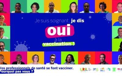COVID 19 : Je suis soignant, je dis oui à la vaccination